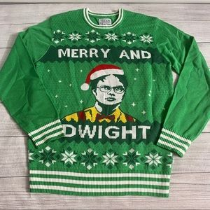 Tipsy Elves    The Office Dwight Christmas Sweater